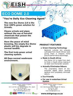 #Eco #Clean #Urinal #Green #Bathroom #Washroom #biodegrade #EISH #eishct@imaginet.co.za #eishorders@imaginet.co.za Cleaning Agent, Washroom, Peace Of Mind, Green, Products, Laundry Room, Gadget