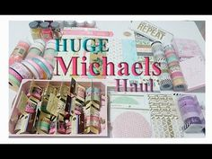 Collective Haul - Michaels, Hobby Lobby & Tuesday Morning - YouTube