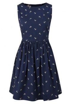 Louche Marrie Anchor Dress