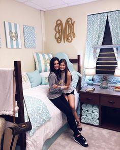 Cute dorm room decor at Baylor University