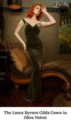 Laura Brynes Gilda Gown, But in Black. Size M