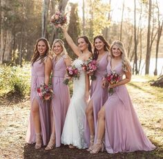 Bride Tribe Goals🌸 desert rose gives us such a romantic feel. Style 21532 Book an appointment with our Bridal Consultant for a style try on with your special ladies💫 . Pink Bridesmaid Dresses Short, Designer Bridesmaid Dresses, Wedding Dresses, Dresses Dresses, Pink Bridesmaids, Party Dresses, Cocktail Length Dress, Desert Rose, Madeline Gardner