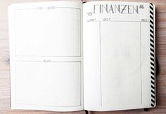 Financial Tracker, Books and Films I want to read - Mein Design, mein Layout // Bullet Journal