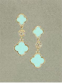 Mint Natalie Earrings