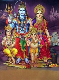 Those who adobe to Lord shiva will get everything in life and never face any obstacles. Shiva bhakti is the most wonderful thing and those. Shiva Parvati Images, Shiva Shakti, Durga Images, Krishna Images, Lord Shiva Hd Images, Shiva Lord Wallpapers, Lord Shiva Family, Shiva Art, Krishna Art