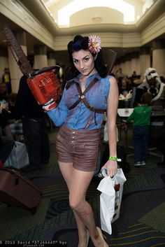 Army of Darkness. Evil Dead. Female Ash. SO INCREDIBLE! #cosplay