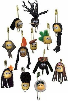 Multicultural Bead Head SWAPs are fun to make and collect. www.makingfriends.com has swap ideas and materials of all kinds.