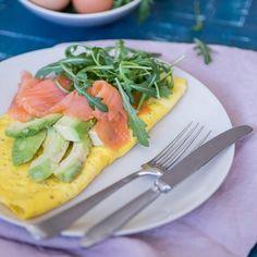 Omelet Gerookte Zalm