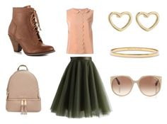 Pretty in Pink by lindseybates on Polyvore featuring RED Valentino, Chicwish, Mojo Moxy, MICHAEL Michael Kors, Kate Spade, Marc by Marc Jacobs and Tom Ford