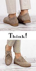BSS 31 BESSA Think 84071-27 Damen Schnür Schuhe macchiato-beigebraun