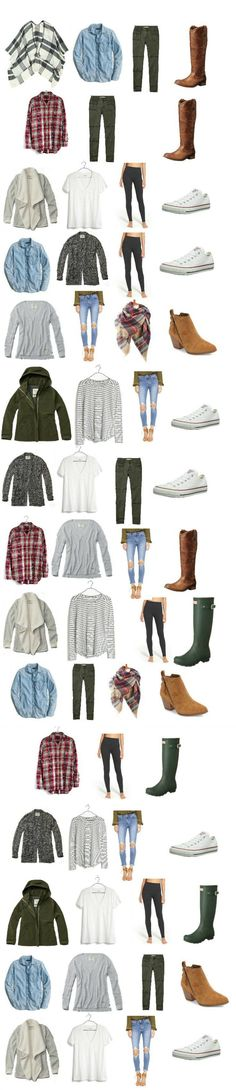 fall-capsule-outfits - Lauren McBride This fall capsule wardrobe for moms will keep you looking stylish, fresh, and, most importantly, COMFORTABLE during the fall season. Many of these items you probably already own! Capsule Outfits, Fall Capsule Wardrobe, Fashion Capsule, Fall Winter Outfits, Autumn Winter Fashion, Fashion Fall, Mom Outfits, Cute Outfits, Casual Outfits For Moms
