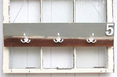Wall Hat Rack / Baseball Hat Rack / Cowboy Hat Rack / Wooden Hat Rack / Grey…