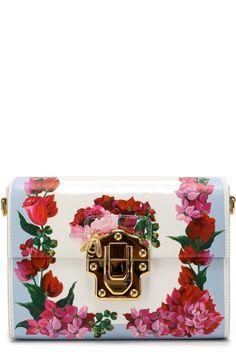 e15fff9a84f Сумка Lucia с цветочным принтом Dolce   Gabbana