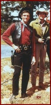 David Canary as Candy on the left In Bonanza  & Joe