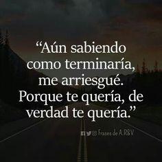 Pero to no sentias lo mismo Spanish Inspirational Quotes, Spanish Quotes, Happy Love, Sad Love, Smart Quotes, True Quotes, Heartbreaking Quotes, Quotes En Espanol, Motivational Phrases
