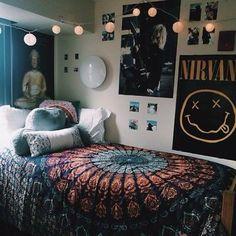 Cute bohemian tapestry. Ships within 1.5 weeks. Heera Accessories Boho Bedroom Decor, Room Ideas Bedroom, Bedroom Girls, Bedroom Designs, Modern Bedroom, Bedroom Wall, Childs Bedroom, Bedroom Posters, Trendy Bedroom