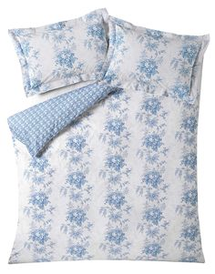 The vintage inspired Charlotte cornflower pillowcase pair will cheer up any room. Add to a white bed or make a set with a matching Cabbages & Roses duvet cover. White Bedding, Linen Bedding, Bed Linen, King Bedding Sets, Luxury Bedding Sets, Cheap Bed Sheets, Luxury Bedding Collections, Cozy Bed