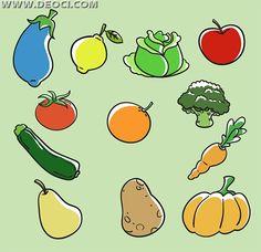 Resultado de imagen para simbolos de verduras