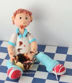 Fondant People, Sculpey Ideas, Modeling Chocolate, Clay Figures, Fondant Cakes, Cake Cookies, Cupcake Toppers
