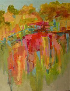Canyon Wall by Judy Wilder-Dalton Acrylic ~ 28 x 22