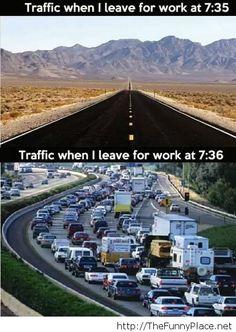 I will never understand this traffic phenomenon