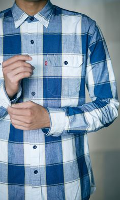 Find out why Levi's® shirts for men are a must-have closet staple, perfect for any outfit. Browse the assortment of cotton shirts, t-shirts, tank tops, denim shirts and more. Love Fashion, Fashion Outfits, Levis Shirt, Man Style, Tank Top Shirt, Neue Trends, Mens Suits, Vintage Inspired, Nice Dresses