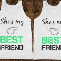 Matching Best Friends - Skreened T-shirts, Organic Shirts, Hoodies, Kids Tees, Baby One-Pieces and Tote Bags Custom T-Shirts, Organic Shirts...