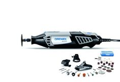Dremel 4000-3/34 120-Volt Variable Speed Rotary Tool Kit - The Dremel 4000 offers the highest performance  most versatility of all Dremel rotary tools. The increased strength of its motor plus electronic feedback circuitry enables consistent per