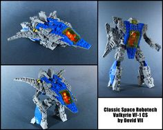 https://flic.kr/p/nfeW5J | Classic Space Robotech Valkyrie VF-1 CS | I love this creation because it combines two genres unique for me, Lego Classic Space and Robotech/Macross Support and share!!!Support and share!!!now on Lego Ideas!!!! Link ideas.lego.com/projects/64722