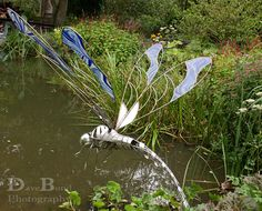 #Dragonfly #sculpture at #Hilliers Garden, Hampshire