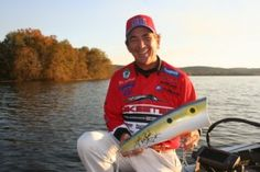 Zell Rowland is catching them on a Pop-R! Photo copyright Brad Wiegmann Outdoors. http://www.bradwiegmann.com/lures/swimbaits/238-anglers-adding-rebel-19-inch-autographed-zell-roland-to-swimbait-arsenal.html