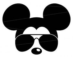 92c7f487a1 Mickey mouse svg sunglasses Disney Mickey Mouse Sunglasses svg mickey mouse  ears svg mickey mouse head