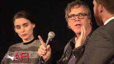 CAROL director Todd Haynes and Rooney Mara at AFI FEST 2015
