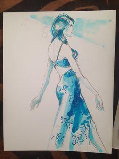 by Warren K. Bradley -work in progress. ink w/ pencil