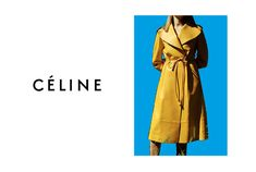 Céline Fall 2015 Homepage Normal Screen 2 Celine Campaign, Phoebe Philo, Fall 2015, What I Wore, Parisian, Duster Coat, Fashion Photography, Wrap Dress, Photoshoot