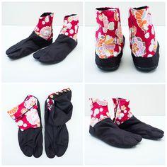 Nara Black Aloha Japonista Sole Jika Tabi Shoes - Japan Lover Me Store Tabi  Shoes 9a904043d