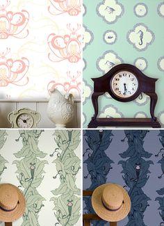 Wonderful Wallpaper By Grow House Katie Deedy Monkey Designs Designer