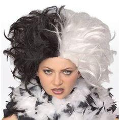 Deluxe Dalmatian Hunter Costume Wig