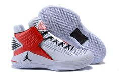 88f5a99884e9 2017 Cheap Air Jordan 32 XXXII White Red Black PE For Sale Buy Jordans