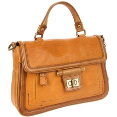 Olivia Harris Toggle Hinge Top Handle Convertible Bag