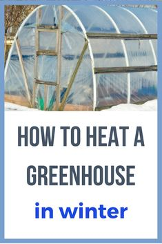To Heat A Greenhouse In Winter Love this! This is really great info on how you can keep your greenhouse warm during the winter! This is really great info on how you can keep your greenhouse warm during the winter! Winter Greenhouse, Outdoor Greenhouse, Build A Greenhouse, Greenhouse Gardening, Greenhouse Ideas, Greenhouse Wedding, Homemade Greenhouse, Greenhouse Growing, Cheap Greenhouse