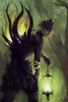 Walking Druid by thiago-almeida