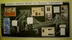 Victorian Biographies classroom display photo - Photo gallery -