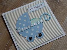 Modrý kočárek Cards, Baby, Maps, Baby Humor, Infant, Playing Cards, Babies, Babys