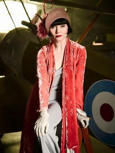 Essie Davis as Phryne Fisher in Miss Fisher's Murder Mysteries