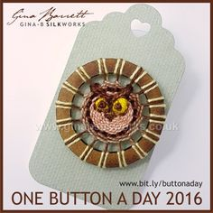 Day 293 : Athena #onebuttonaday by Gina Barrett                                                                                                                                                                                 More