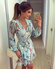 Online shopping for Shop Your Style: Casual from a great selection at Clothing, Shoes & Jewelry Store. Cute Dresses, Beautiful Dresses, Casual Dresses, Short Dresses, Casual Outfits, Fashion Dresses, Cute Outfits, Summer Dresses, Mode Simple