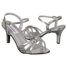 ed54cbabb09 Dyeables Women s Peach at Famous Footwear Silver Wedding Shoes