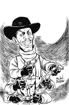 Six Shooter from Puppet Master the new comic series (Michela Da Sacco) Horror Icons, Horror Films, Evil Pictures, Charles Band, Horror Merch, The Hills Have Eyes, House On Haunted Hill, Ghost Faces, Jeepers Creepers