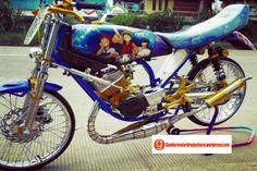 8 Gambar Gambar Drag Bike Motor Rx King Terbaik Bike Drag Race